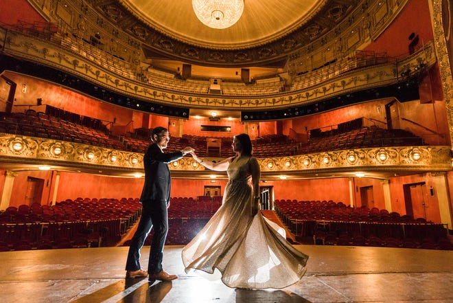 The Pabst Theater Group Monday announced new small wedding packages for 10 people or less staged at one of three venues, including the Pabst Theater. The packages are an alternative for couples whose wedding plans this summer were scrapped because of the coronavirus pandemic.