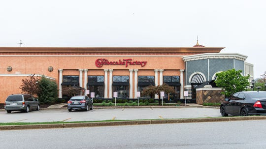 The Cheesecake Factory and other restaurants at Mayfair Mall have been offering takeout, delivery and curbside pickup as seen on Monday, May 18, 2020. The mall will reopen to customers on Wednesday, May 20.