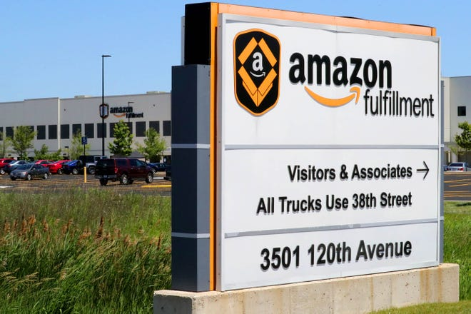 File photo: Amazon fulfillment center in Kenosha