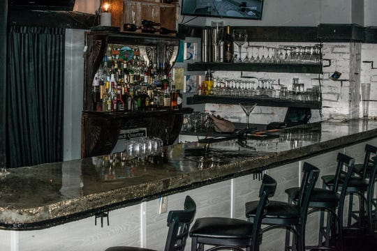 The bar inside KimberLia's in downtown Prattville.