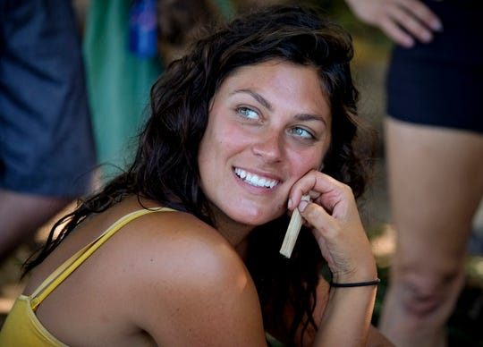 """Michele Fitzgerald was one of the finalists on this season of """"Survivor."""""""