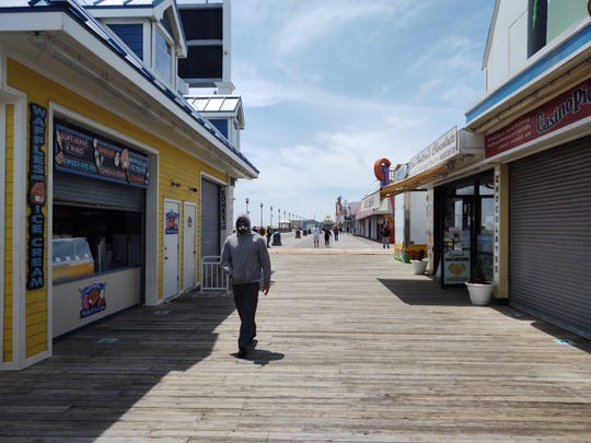 Seaside Heights, May 19, 2020