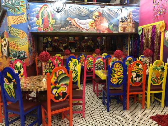 The new Mexican restaurant Puebla De Noche