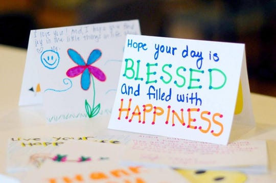Handwritten messages of hope and cheer are the goal of the Love for the Elderly letter drive.