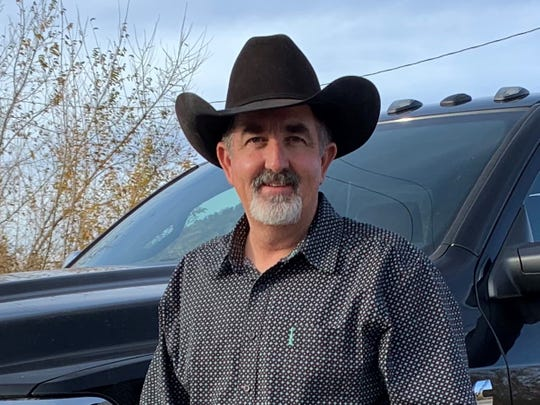 Ben Hazen, 2020 candidate for Lincoln County Sheriff in New Mexico.