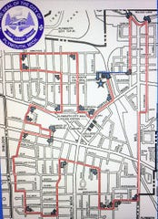 The proposed route for Plymouth's May 25 Memorial Day parade.