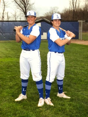 Tate and Trent Farquhar (right) were planning on playing baseball together at Bowling Green State University.