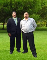 Alam B. Roofing and Home Improvement LLC in Gettysburg specialize in exterior work, from roof repairs to siding and decks. The business is co-owned by brothers Alam Barrera, left, and Jose Barrera-Duque.