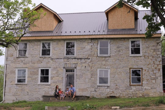 Dan and Carrie Craytor are renovating their 1750s old German limestone home in Franklin County.
