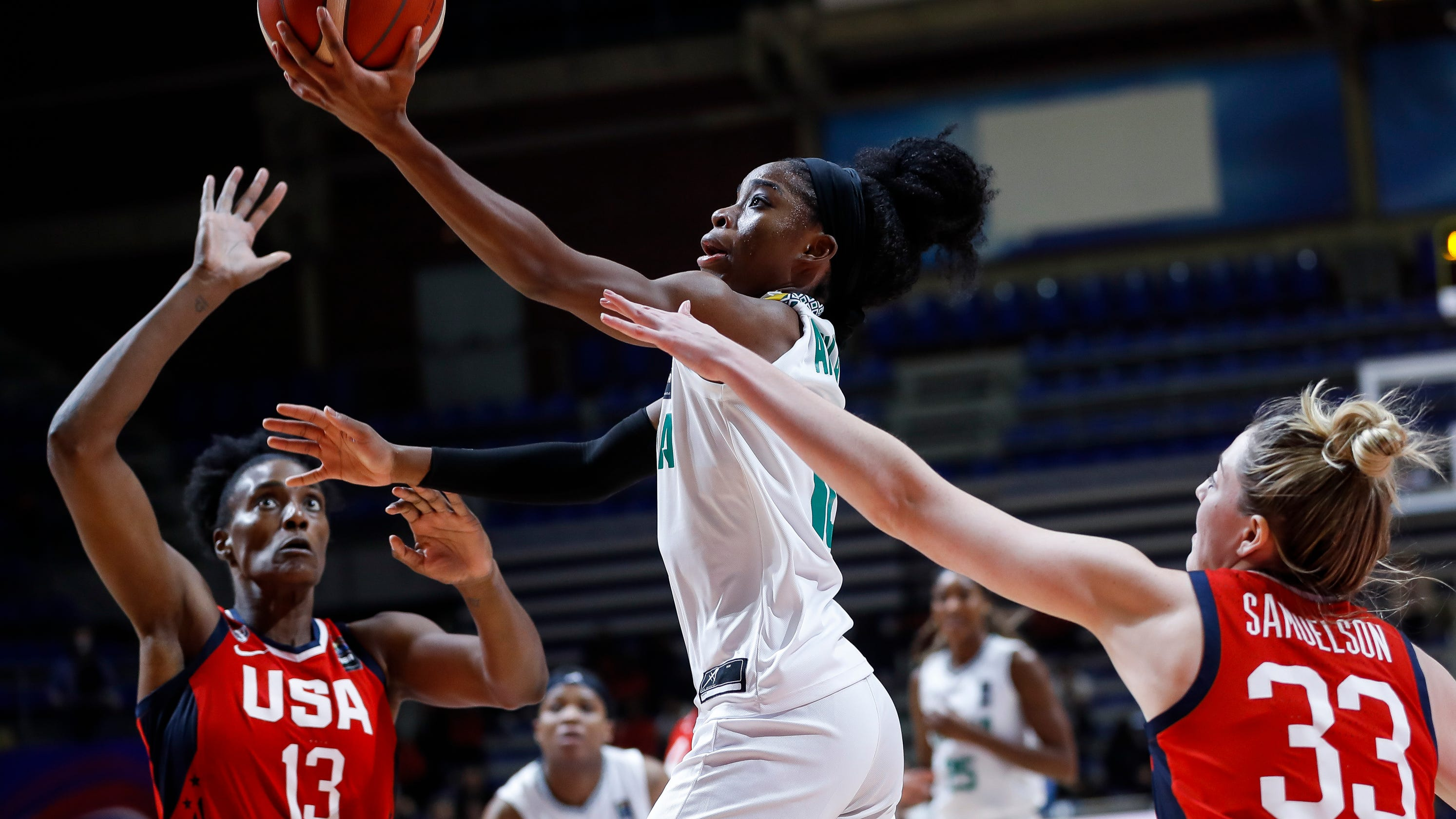 Promise Amukamara's persistence is carrying her to the Olympics