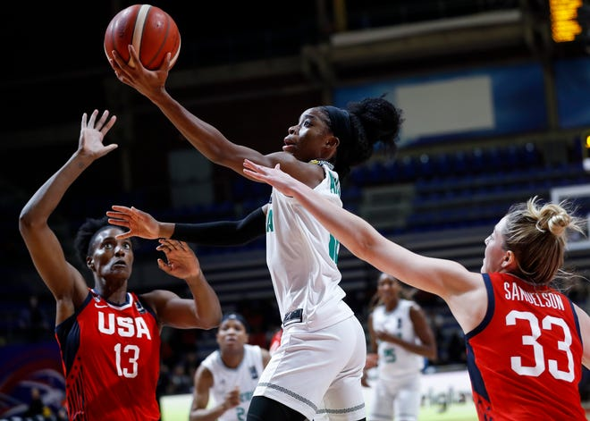 Guard Promise Amukamara will play for Nigeria at the Tokyo Olympics, becoming the first former Arizona State women's basketball player to reach the Olympics.