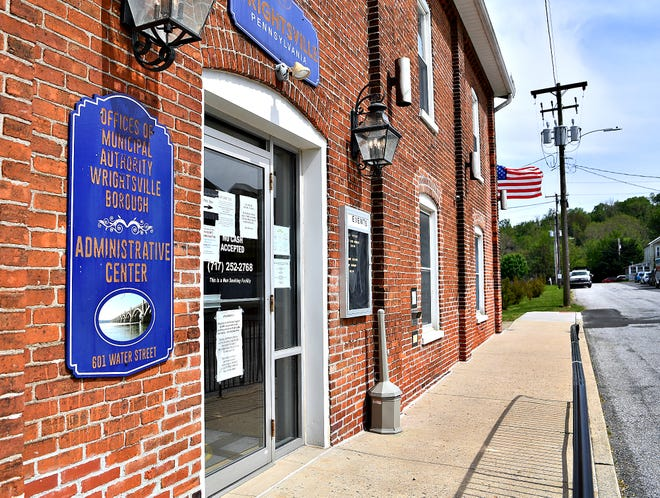 Wrightsville Borough Administrative Center in Wrightsville, Tuesday, May 19, 2020. Dawn J. Sagert photo