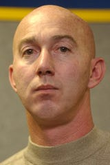 Former Southwestern Regional Police Officer Stu Harrison is seen in this file photo from 2003.