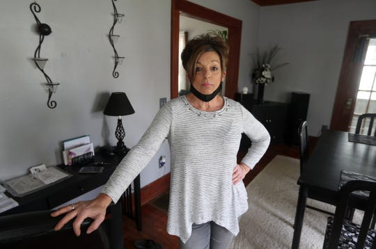 Nancy Miller, 60, of Rochester, is a self-employed hair stylist who has yet to receive any money from New York State unemployment the the coronavirus shutdown. She hopes she will get retroactive pay but is frustrated with the unemployment insurance process.