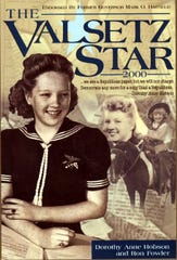The book cover of a book recalling the glory days of the Valsetz Star, a newspaper published in the remote logging down in the early 1900s.