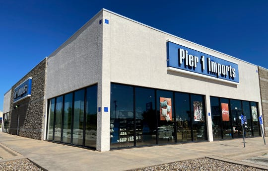 Pier 1 Imports announced it has filed a motion seeking Bankruptcy Courtapproval to shut down all stores including the San Angelo location seen here in this Tuesday, May 19, 2020 photo.