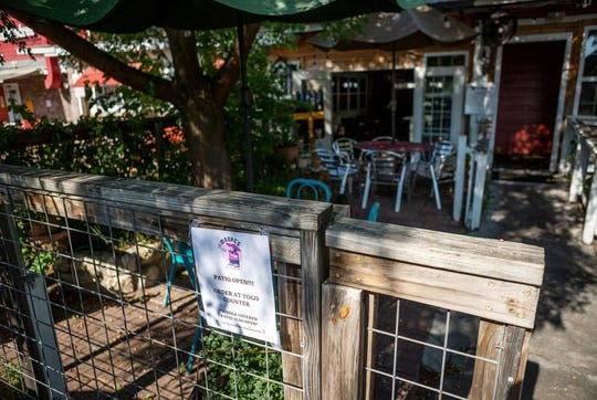 Mi Madre's Restaurant in Austin opened its patio after Gov. Greg Abbott lifted some restrictions on restaurants in May.