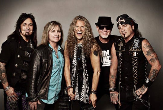 Hard-rock act Great White will play a free concert at the Ocean City Inlet at 5:30 p.m., Wednesday, Sept. 16,  as part of the OC BikeFest.