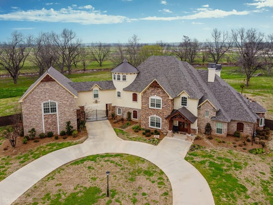 469 Kingston Plantation Boulevard in Benton is built much like a castle.