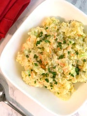 Southern Potato Salad with a Twist is perfect for Memorial Day.