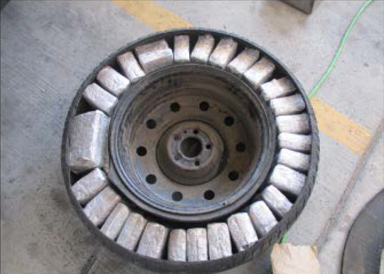 U.S. Customs and Border Protection officers on Saturday, May 16, 2020, seized more than 126 pounds of marijuana hidden in a 2003 Ford Explorer at the Bridge of the Americas.