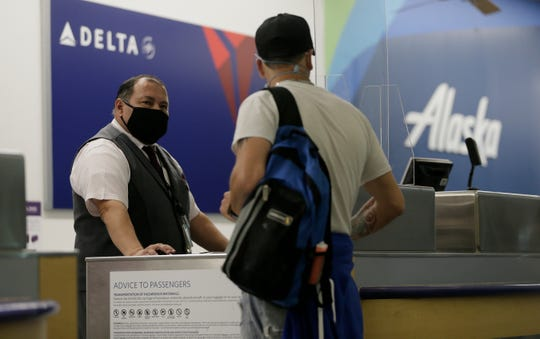 Airlines are beginning to see a slight uptick in travelers as coronavirus restrictions are slowly lifted across the country.