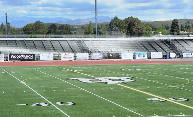 Football stadiums will remain empty this fall with the sport scheduled to return to high school campuses in January 2021.