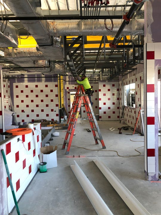 Goober's Diner in Wilmington, tentatively scheduled for a July opening, will offer comfort foods and a walk-up window.
