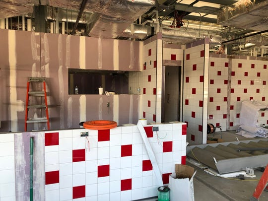 Work continues on Goober's Diner. The old-school diner will be constructed on a lot off Wilmington's Pennsylvania Avenue.