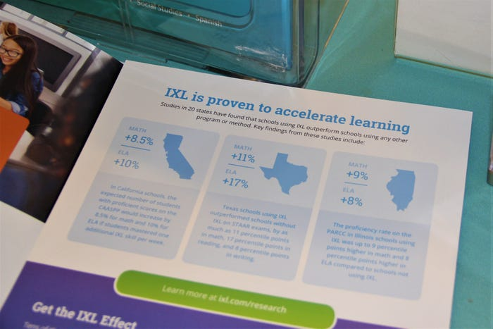 Online programs used for coronavirus-era school promise results. The claims are misleading