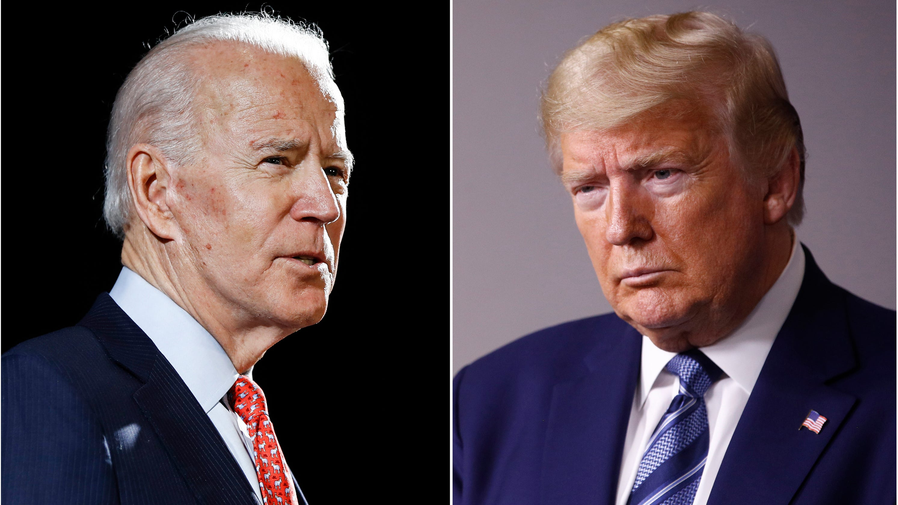 Here's what to know about the Joe Biden Donald Trump competing town halls tonight – USA TODAY
