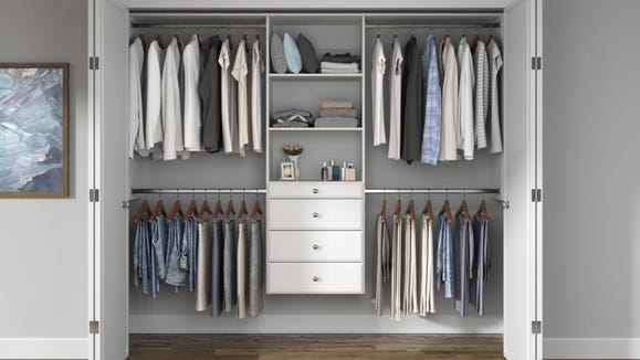 Messy closet? Not a problem with this organizer.