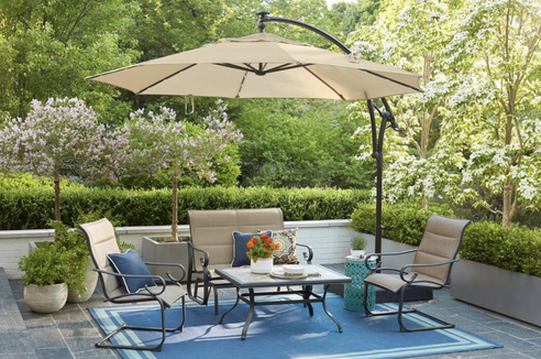 Your patio set is about to get a lot more cozy.