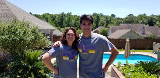 Elaine Smith and her son, Khalil, attended LSUA together this past year. Elaine is graduating this month with an Associate of Science in Nursing and Khalil just finished his freshmen year. He is currently enrolled in the chemistry degree program and hopes to become a doctor.