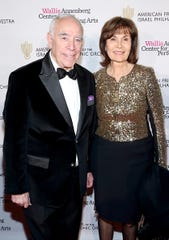Richard Rosenzweig and his wife, Judy Henning, attend the American Friends of the Israel Philharmonic Orchestra Duet Gala at the Wallis Annenberg Center for the Performing Arts on November 10, 2015 in Beverly Hills, California.