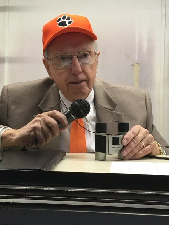 Bill Ragland, the voice of the Rosman Tigers, died on May 19.