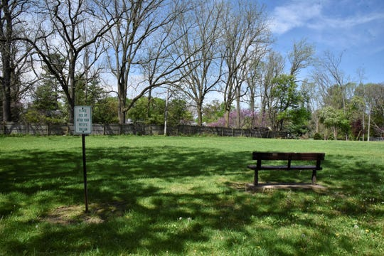 Allcott Park in Marshall on Wednesday, May 20, 2020.