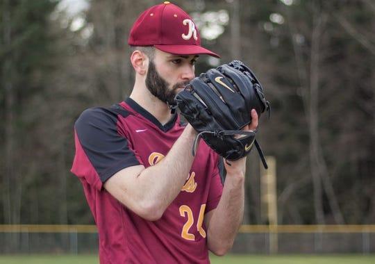 Kingston baseball player Jack Hermanson is hoping to continue his career at Washington State University.