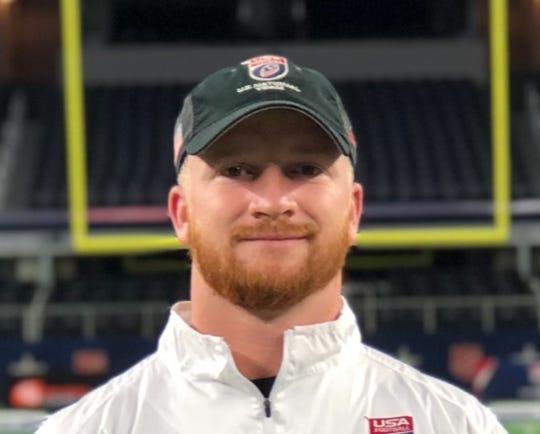 New West Oso football coach Brad Smithey.