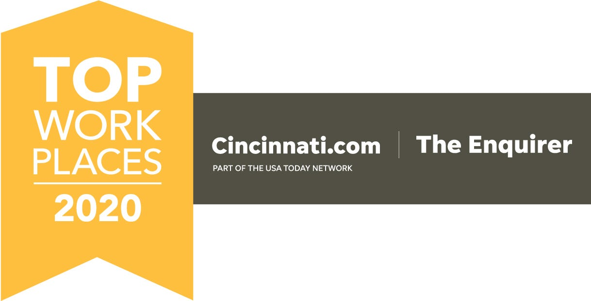 Top Workplaces Cincinnati 2020 Logo