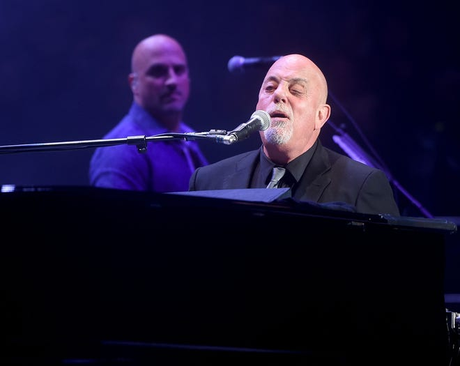 Billy Joel at Madison Square Garden in New York on May 25, 2017.