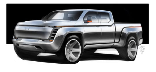 The Endurance all-electric pickup to be built by Lordstown Motors starting in 2021.