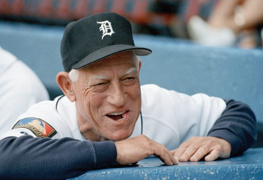 Sparky Anderson won 1,331 games over 17 seasons as the Tigers manager.