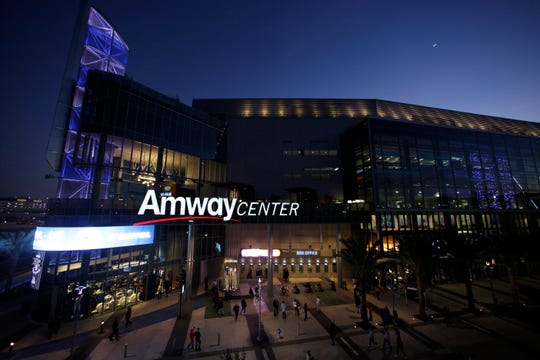 The NBA could possibly make use of the Magic's Amway Center if Orlando is picked to host games.