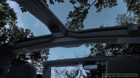 GMC released a teaser video showing the simulated view from a topless Hummer EV.