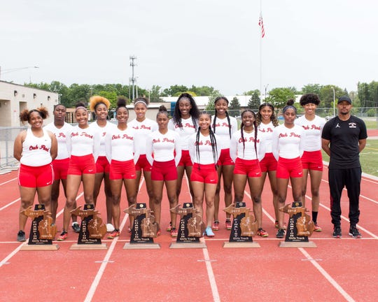 The Oak Park girls track team has won five out of the last six Division 1 state titles.