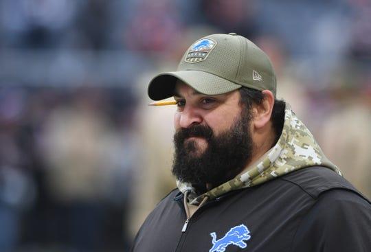 Matt Patricia is entering his third season as Lions head coach.