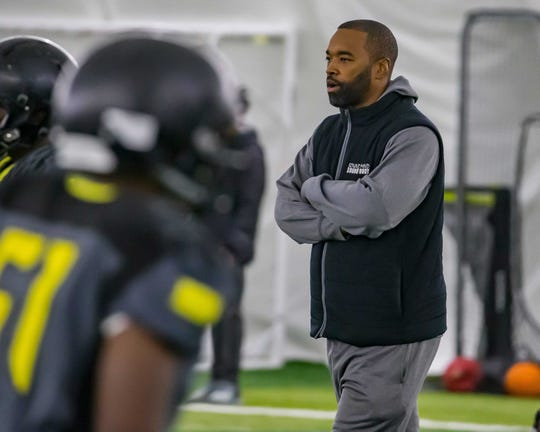 """Former Michigan State coach Mark Dantonio said Curtis Blackwell was let go for """"philosophical differences."""""""