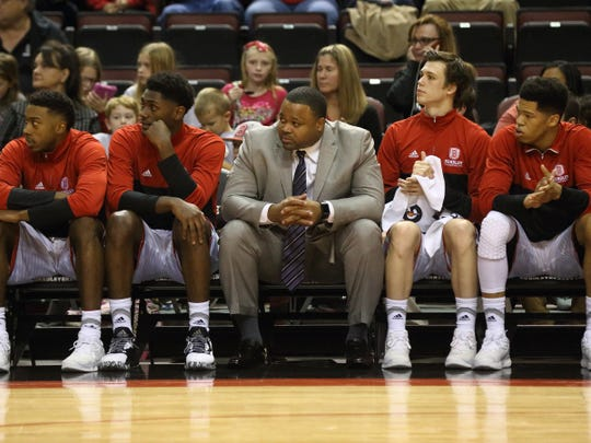 Bradley assistant coach Jimmie Foster spent five seasons at the University of Wisconsin-Green Bay.