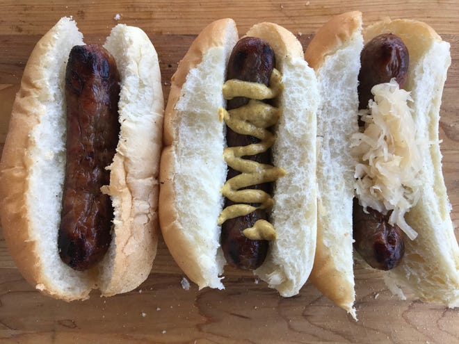 What's the proper bratwurst topping? Some questions are best left unanswered.